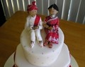 Wedding Cakes / Visually Delightful and Delicious in Taste Fruit Cake or Vanilla; chocolate or pineapple, tiered or cup cakes; carrot filling or cheesecake; essenced or fresh falvoured - whatever you choose - a few inspirations for you to start and work around...