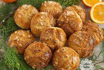 Pastane kurabiyesi portakalı