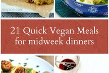 Vegan meals / Meatless meals