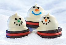 Christmas/winter cookies