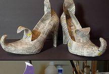 Winterprojekt Schuhe