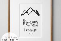 Lieben - Berge