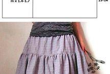 Lorraine chiffon skirt
