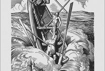 Moby Dick, by Herman Melville, illustrated by Rockwell Kent (1930)