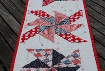 Quilting Love:  Table Runners