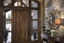 hall way /entry decor / by Wendy Kenyon Thomson