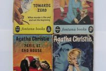 Vintage mystery detective books
