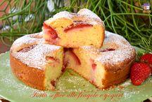 Torta fragole leggera