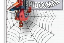 spider-man (and other heroes... but mostly Spider-man) / by Heather Overfield