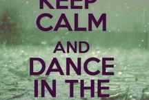 Keep calm and .-: