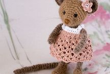 Mice in crochet