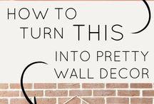 The Creative Home-wall decor