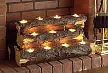 Fireplace, Firewood & Stove