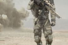 military / apocalyptic wartime
