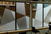 Manifestation Window Film / Where large panes of clear glass are at risk from people walking into them, Regulation 14 of the Workplace (Health, Safety & Welfare) Regulations 1992, stipulates that such panes must be made apparent. Manifestation can take the form of broken or solid lines with permanently applied, durable materials. Company logos or other patterns can also be used, but all manifestation must be of sufficient size and regularity to make it immediately obvious.