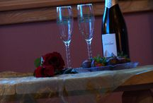 Romance / The Abineau Lodge is a perfect place for romance: weddings, anniversaries or just romantic getaways.