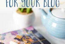Blogging tips / Tips om beter te bloggen | Inspiratie voor bloggers | Tools voor bloggers