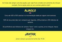 ALIMENTAÇÃO SAUDÁVEL- CARDÁPIOS
