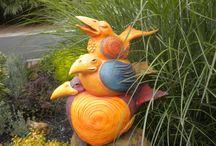 Birds & plumage / Ceramic Ocarina. Animal sculpture. Pictures & illustration. Birds art #ceramic #art #handmade #ocarina #Animal #sculpture #jivizvuk #figurine #music #gifts #Birds #toy #plumage