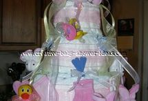 Baby Shower Diaper Ideas and #Diaper Projects