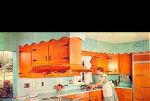 Antiques/ Vintage Kitchens/ Old things / by Carol Trujillo