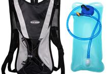 Water Bottles and Hydration Bags