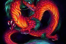 Dragones / Dragons / by Signorina Luján