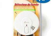 Les détecteurs de fumées / Détecteurs de fumées et de CO