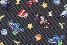 Nintendo Video Game Fabrics / Get Your Game On!