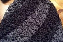 Crochet hats, gloves