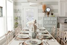Table Setting Ideas / For more decorating ideas stop by: http://www.decorating-ideas-made-easy.com / by Jennifer Decorates