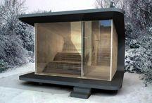 Modern saunas