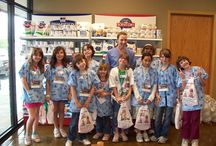 Girl Scout Tours / Winter Mondays means Girl Scout Tours at Animal Hospital at Auburn Hills, taught by Stacey Stamps. Using the N-O-R-M-A-L curriculum she created, girls learn the tender loving care to keep their own pets healthy and happy. Perhaps veterinary medicine is in their futures!