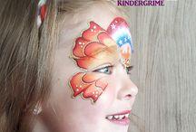Schminken / facepaint door Dranneke kindergrime / schminken / facepaint