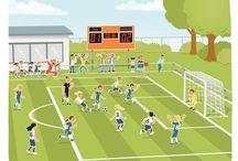 Praatplaten Sport en Spel