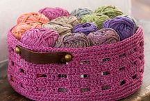 Basket Crochete