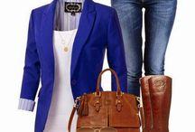 Fashion ideas - cobalt blue