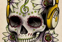 skulls / by Nicole Larsen