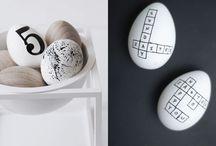 идеи украшений пасхальных яиц