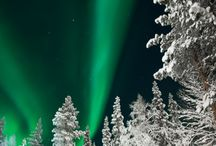 Finnish Travel Blog - Lapland / The Finnish Lapland is a perfect place to view Aurora Borealis. These photos are from Levi.