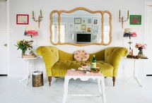 Modern Vintage Home / Love to mix modern objects, fabrics  & furniture with retro touches to create a nostalgic vintage ambiance at home.