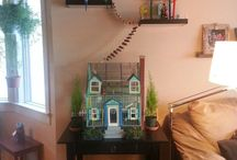 Huisvesting en speelgoed birds