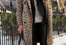 Звериное пальто