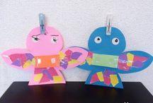 保育園おもちゃ製作