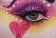 Creative Make Up / Beautiful made up eyes and faces