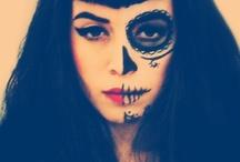 pintura no rosto