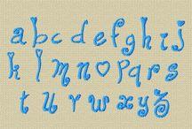alphabet broderie