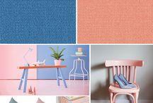 Pantone color of the year 2016: Rose Quartz + Serenity / Conhecida por criar sistemas de cores utilizados no mundo inteiro, a Pantone é responsável pela escolha da cor que será tendência entre as principais empresas de moda e design em todo o mundo. Pela primeira vez, duas cores foram escolhidas para dominar as passarelas e as casas: o Rose Quartz (Pantone 13-1520) e Serenity (Pantone 15-3919) são as cores de 2016. Juntas, demonstram um equilíbrio entre o rosa quente e um azul mais suave.