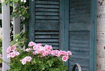 Kaija's Cottage Garden / Puutarha, terassi, perennat, kesäkukat sekä asetelmat kuvauskohteina