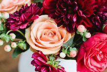 burgundy and gold wedding / burgundy and gold weddig decoration